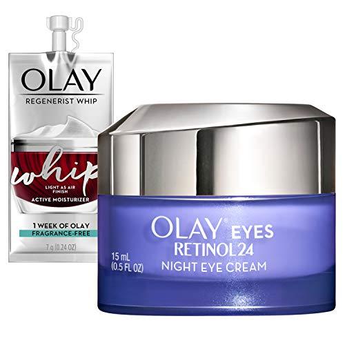 Olay Regenerist Retinol Eye Cream, Retinol 24 Night Eye Cream,...