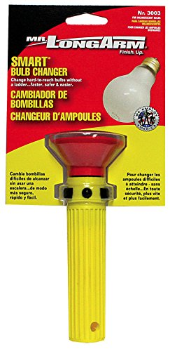Mr. Long Arm 3003 Incandescent Light Bulb Changer, Yellow
