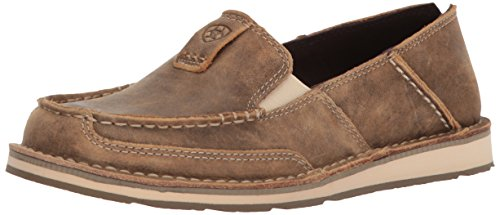 ARIAT Women's Cruiser Slip-on Shoe Casual, Brown Bomber (Retired), 6.5