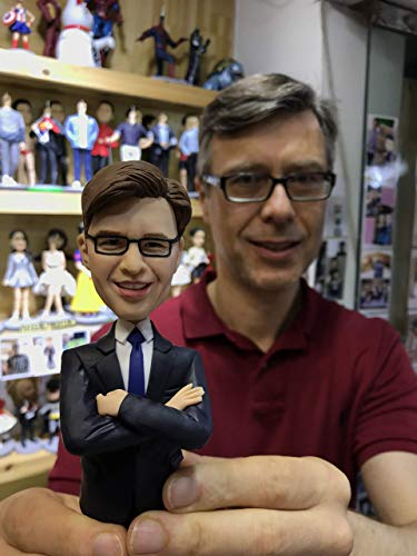 Fully Custom Occupational Bobblehead Figurine Personalized Gifts Based on Your Photos, One person,...