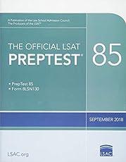 The Official LSAT PrepTest 85: (Sept. 2018 LSAT)