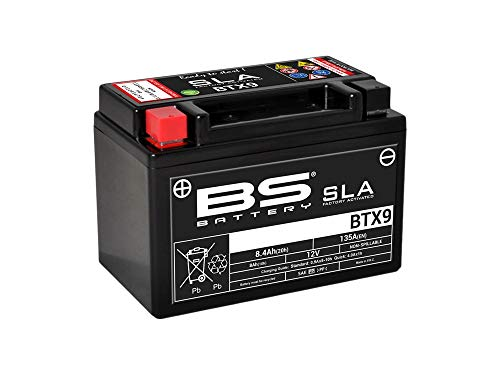 Batterie SLA BTX9 / YTX9-BS - BS BATTERY - 12V / 8Ah