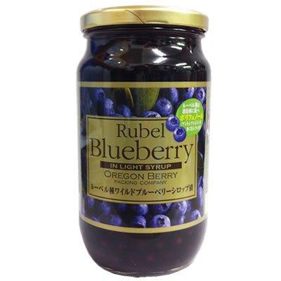 ルーベル種ブルーベリーシロップ漬け 680g