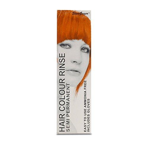 Stargazer Semi-Permanent Hair Colour Dye x 2 Packs Dawn Orange by Stargazer