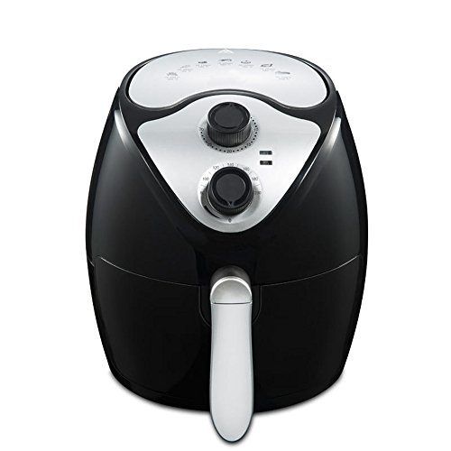 YC Modern Electric Air Fryer, 1300W 2.6L Capacity Oil Free Air Fryer with Removable Dishwasher Safe Basket