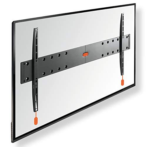 *VOGEL'S BASE 05 L Flache TV Wandhalterung für 40-80 Zoll (102-203 cm) Fernseher, Flach, Max. 70 kg, Halterung auch für LED, QLED und OLED Fernseher, Halter TÜV getestet, VESA 100×100 bis 800×400*