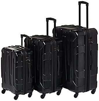 Samsonite Centric Hardside Expandable Luggage with Spinner Wheels Black Carry-On 20-Inch