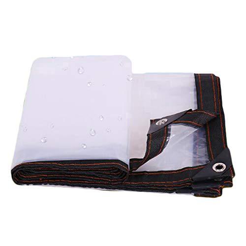 ER-JI Heavy-duty dustproof and rainproof tarpaulin, anti-aging insulation PE for camping, fishing and gardening,2 * 6m