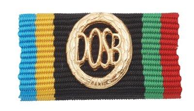 Weitere... Bandschnalle DOSB-Sportabzeichen Gold