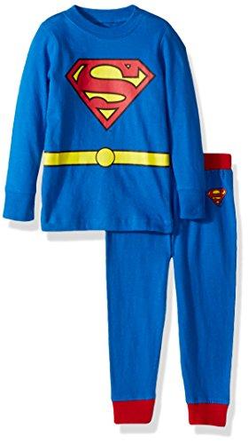INTIMO Niños Niño pijama de Superman, blue, 3T