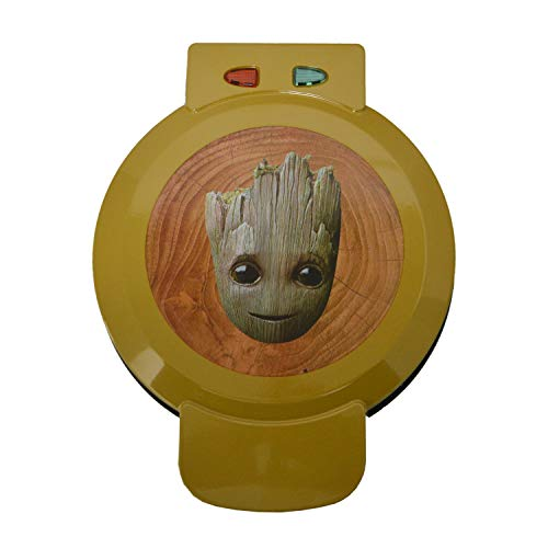 Marvel Groot Waffle Maker- I Am Groot On Your Waffles- Waffle Iron