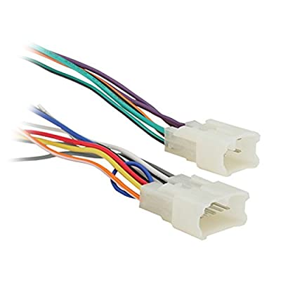 Metra Radio Wiring Harness For Toyota 87-Up Power 4 Speaker