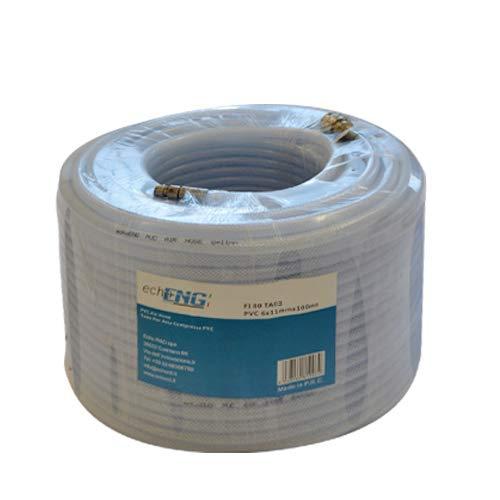 Tubo para aire comprimido de PVC, diámetro 14 x 10 mm, 100 m