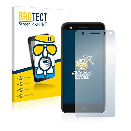 BROTECT Protector Pantalla Cristal Mate Compatible con ZTE Blade V7 Lite Protector Pantalla Anti-Reflejos Vidrio, AirGlass