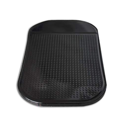 SZYZ Alfombrilla Antideslizante Antideslizante Tablero de Instrumentos del Coche Soporte de Montaje de Almohadilla Adhesiva para teléfono Celular Negro
