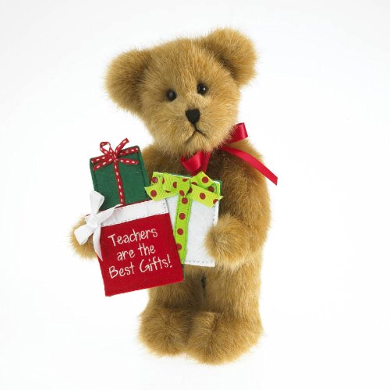 Wisdom by Boyds Bears 8  Plush Teacher Bear w Presents (Bears from the Heart Thinkin of Ya Collection)