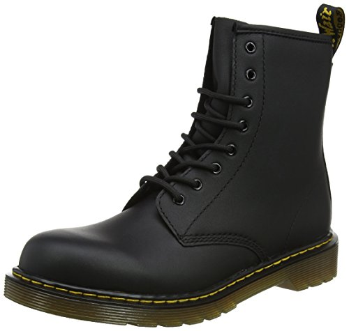 Dr. Martens Delaney Boot,Black Softy T,2 UK(3 M US Little Kid)