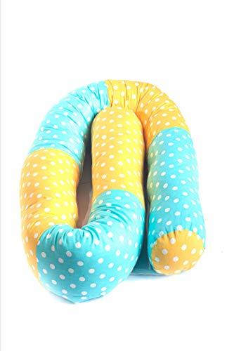 Nido para cuna enrollable, serpiente, 210 cm, para cuna, cuna o moisés. Estándar 100 de Öko Tex.