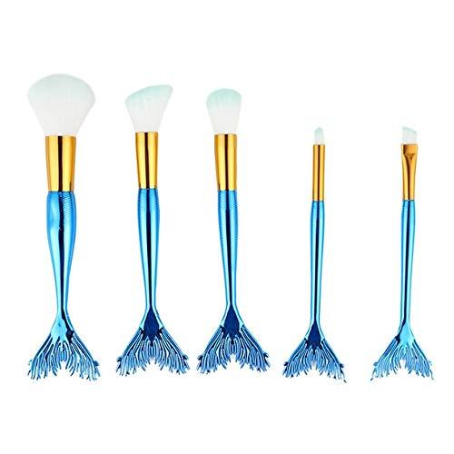 MEIYY Pinceau de maquillage New Hot 5Pcs Powder Makeup Cosmetic Brushes Set Foundation Eyeshadow Lip Blush Make Up Brush Kits Wholesale