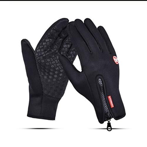 Sport Fahrrad Radfahren Handschuhe Für Männer WasserdichtesFutter Warme Handschuhe Guantes Ciclismo Invierno Luva Ciclismo-L