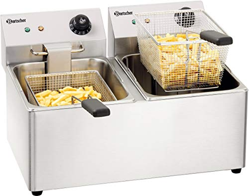 Bartscher A162812E SNACK IV Doppel-Fritteuse,16L