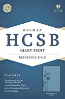 Holy Bible: Holman Christian Standard Bible, Teal, LeatherTouch, Giant Print Reference