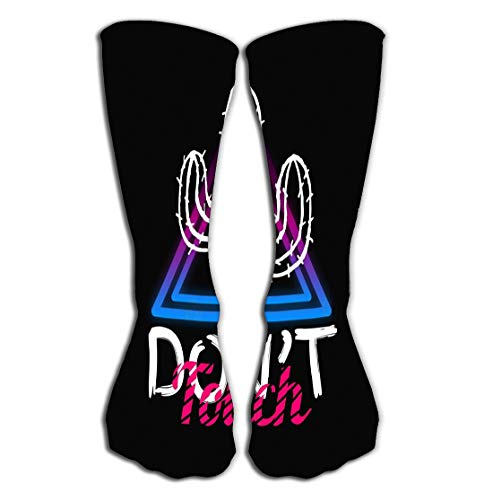 zexuandiy Hohe Socken Print Women's Knee High Socks 19.7