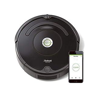 iRobot Roomba 671 Robot aspirapolvere WiFi, Adatto a tappeti e Pavimenti, Tecnologia Dirt Detect, Sistema 3 Fasi, 58 dB, Pulizia programmabile, Grazie alla App, Compatibile con Alexa, Nero, 33w (B079QM5GL9)   Amazon price tracker / tracking, Amazon price history charts, Amazon price watches, Amazon price drop alerts