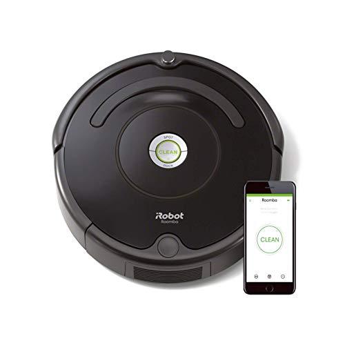 iRobot Roomba 671 Robot aspirapolvere WiFi, Adatto a tappeti e...