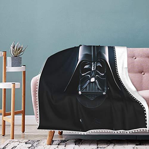 Manta suave con logotipo de Star Wars para recién nacido, manta cálida para cama de bebé, apta para todas las estaciones 50 x 40 pulgadas