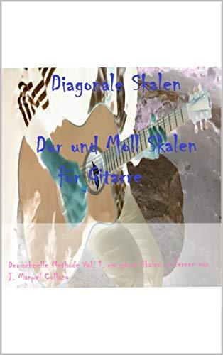 Diagonale Skalen: Dur und Moll Skalen für Gitarre (Vol. 1)