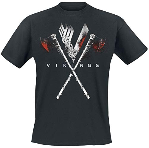 Vikings Axe to Grind T-Shirt schwarz L