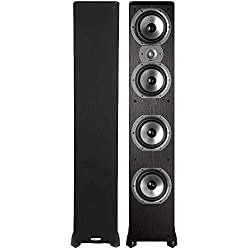 commercial Polk Audio TSi500 High Performance 4 6-1 / 2 inch Driver Tower Speaker-Pair (Black) infinity tower speakers