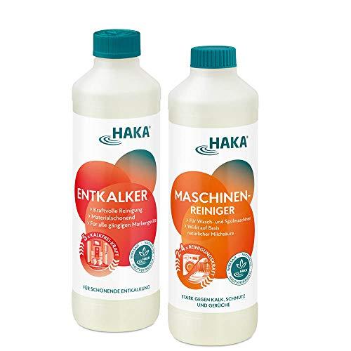 HAKA Set Maschinenliebe I 1 Set Maschinenreiniger + Universalentkalker (je 500ml)