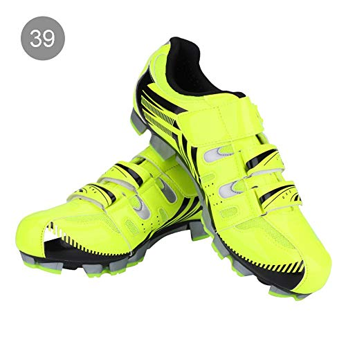 VGEBY1 Zapatillas de Bicicleta, Zapatillas de Ciclismo de MTB Pedal de Bloqueo...