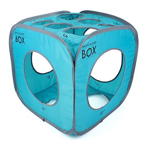 Balloon Sizer Box - Balloon Measurement Box for Balloon Decorations, Balloon Arches, Balloon Columns, Balloon Centerpieces - 13 Hole Balloon Box