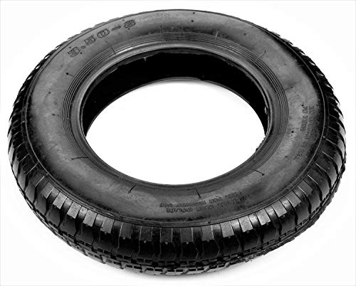 Pneumatic Air Filled Tire 3.50-8 Replacement Wheelbarrow Wheels 15'' / Tire Replacement 8 Wheel
