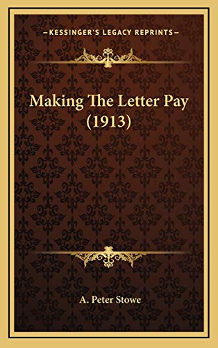 Making the Letter Pay (1913)