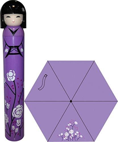 Xst Cartoon Meisje Een Pop Paraplu De Wijn Fles Paraplu Potlood Paraplu Vouw Student Paraplu