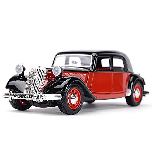 NMBD 1:24 para 1938 Citroen 15 CVTA Classic Classic Die Die Vehicles Modelo De Colección Juguetes De Automóviles Colección (Size : 1)