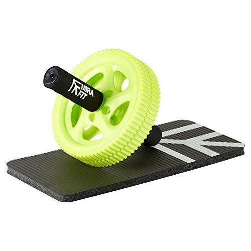 Mirafit Power Ab Roller £ Knee Pad - Improve Core Strength