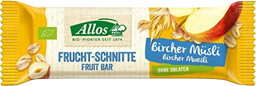 Allos Bio Bircher Müesli Schnitte (6 x 30 gr)