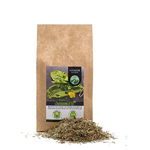 Té de diente de león (250g), Pie de león, hojas de diente de león cortadas, suavemente secadas, 100% puras y naturales para la preparación de té, té de hierbas