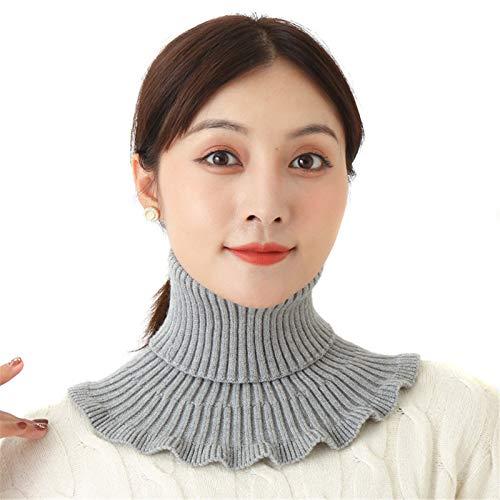 Syfinee Wavy Turtleneck Fake Collar | Neck Warmer | Detachable Collar | Collar for Women | Durable Elegant | False Collar | Women Favors