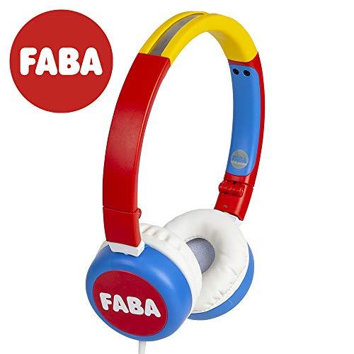 Maikii on-ear opvouwbaar - originele koptelefoon FABA HPW40001, rood