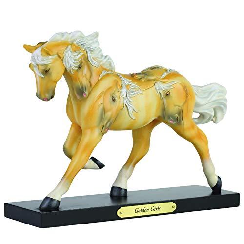 Enesco Trail of Painted Ponies Pferdefigur Golden Girls, 16,5 cm, Mehrfarbig