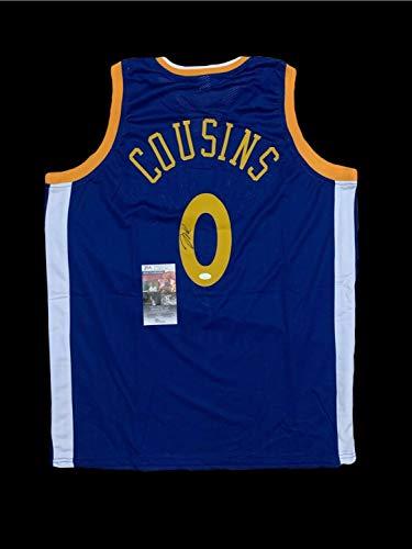 Demarcus Cousins Autographed Signed Jersey JSA