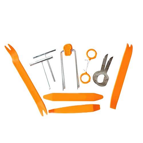 Demarkt - Herramientas de desmontaje para coche, 12 unidades, herramienta para eliminar el revestimiento de la puerta de todos los revestimientos interiores del coche