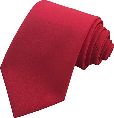 Hommes Plaine Cravate - Différentes couleurs