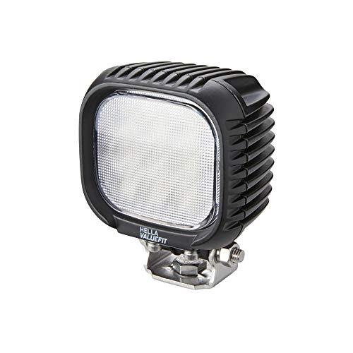 Hella 1GA 357 109-002 Arbeitsscheinwerfer - ValueFit S3000 - LED - 12V/24V – 3000 Lumen - geschraubt - Nahfeldausleuchtung - Deutsch-Stecker - Aluminiumgehäuse - inkl. 800mm Kabel
